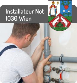 Installateur Notdienst 1030 Wien