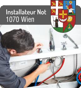Installateur Notdienst 1070 Wien