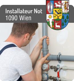 Installateur Notdienst 1090 Wien