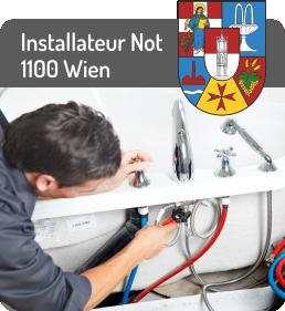 Installateur Notdienst 1100 Wien Favoriten